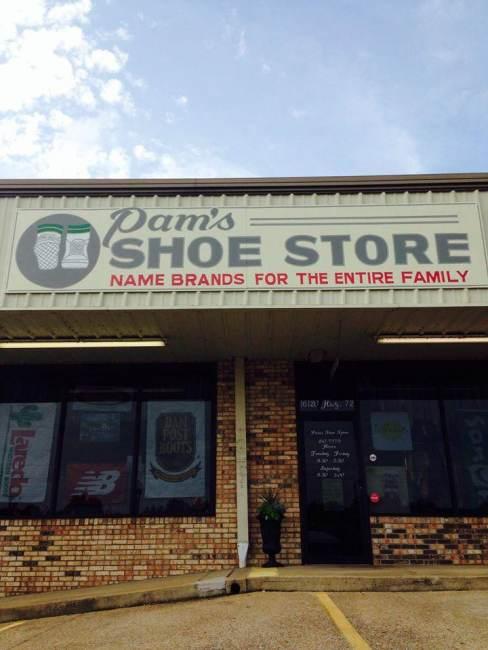Pam's Shoe Store