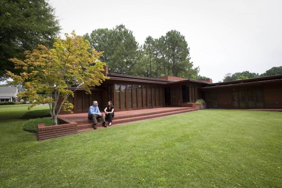 From Talking Stones to Frank Lloyd Wright home