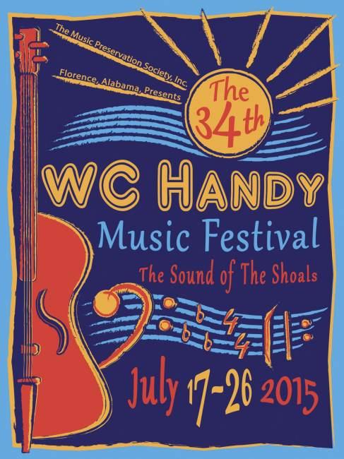 W.C. Handy Festival - July 17-26, 2015